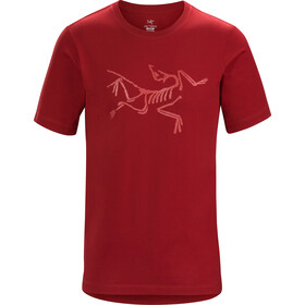Arc'teryx M's Archaeopteryx SS T-Shirt Red Beach